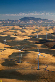 Windmills and Mt. Diablo #4