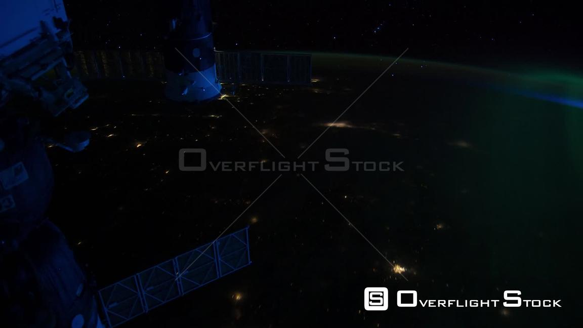 TimeLapse from  ISS USA Canada Aurora Borealis 13_Apr_2012