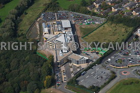Skelmersdale aerial view of West Lancashire new College