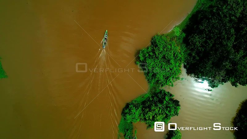 Canoe Amazon River Brazil