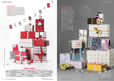 Christmas Magazine Editorial