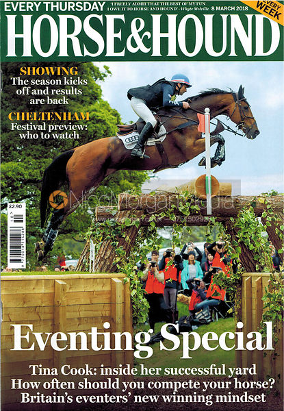 Horse & Hound Cover 8th March 2018