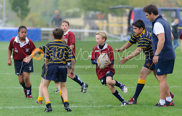 Charlie Agnew - Leicester Grammar School vs. Stamford School - Rugby Union