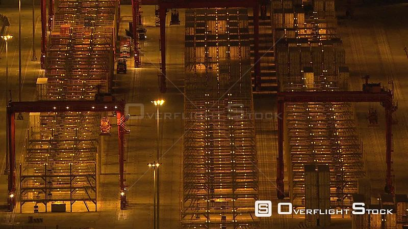 Aerial view of the shipping port in the Western Cape Cape Town. Western Cape South Africa