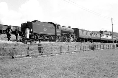 PHOTOS OF K1 CLASS 2-6-0 STEAM LOCOS