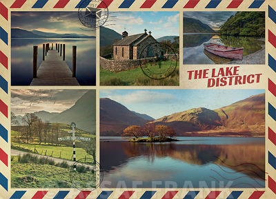 Collage of Lake district images
