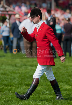Harry Meade at the prizegiving, Badminton Horse Trials 2011