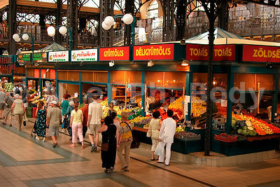 MARCHE CENTRAL, BUDAPEST, HONGRIE