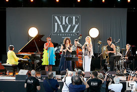 Woman to Woman, Nice Jazz Festival, le 17 Juillet 2017