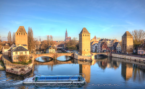 Ponts Couverts in Strasbourg, France