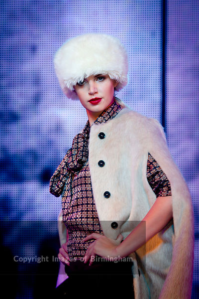 Fashion Show at Birmingham Town Hall, England, UK