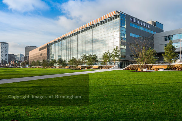 Eastside City Park is a 6.75 acre (2.73 ha) urban park located in the Eastside district of Birmingham City Centre. England, U...