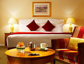Kensington Marriott Hotel, London.