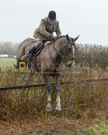 Jumping a hedge near Pasture Lane
