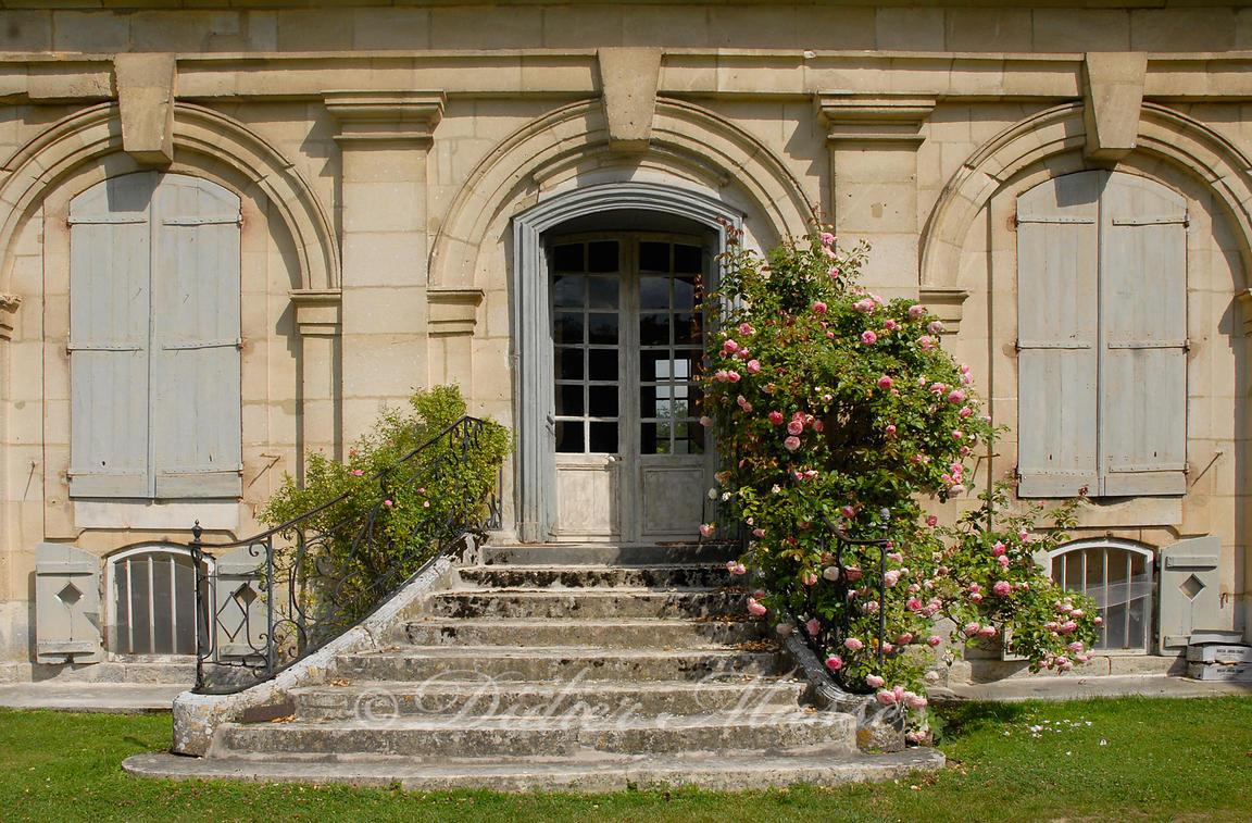 Escalier Val D Oise clichés amassés - didier massé | escalier du château d