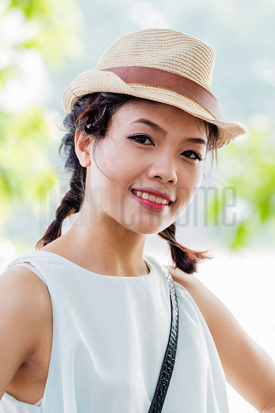 Portrait of Vietnamese Woman