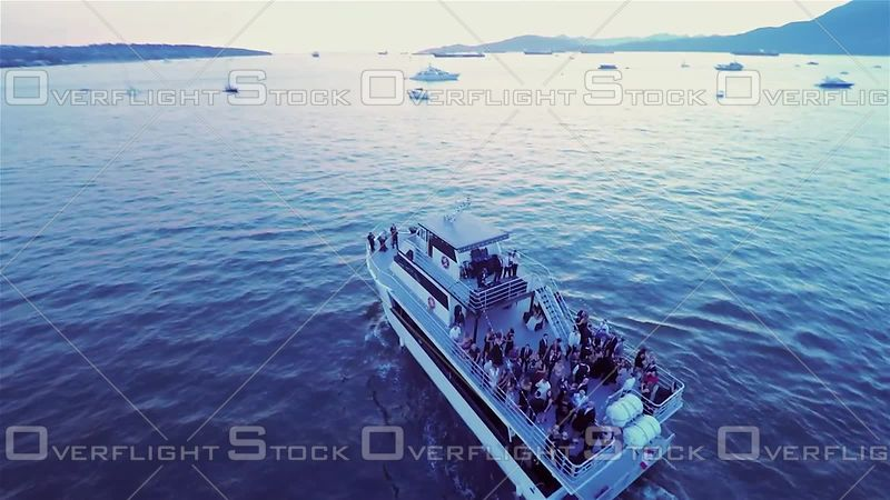 Vancouver Harbour English Bay Party Tour Boat