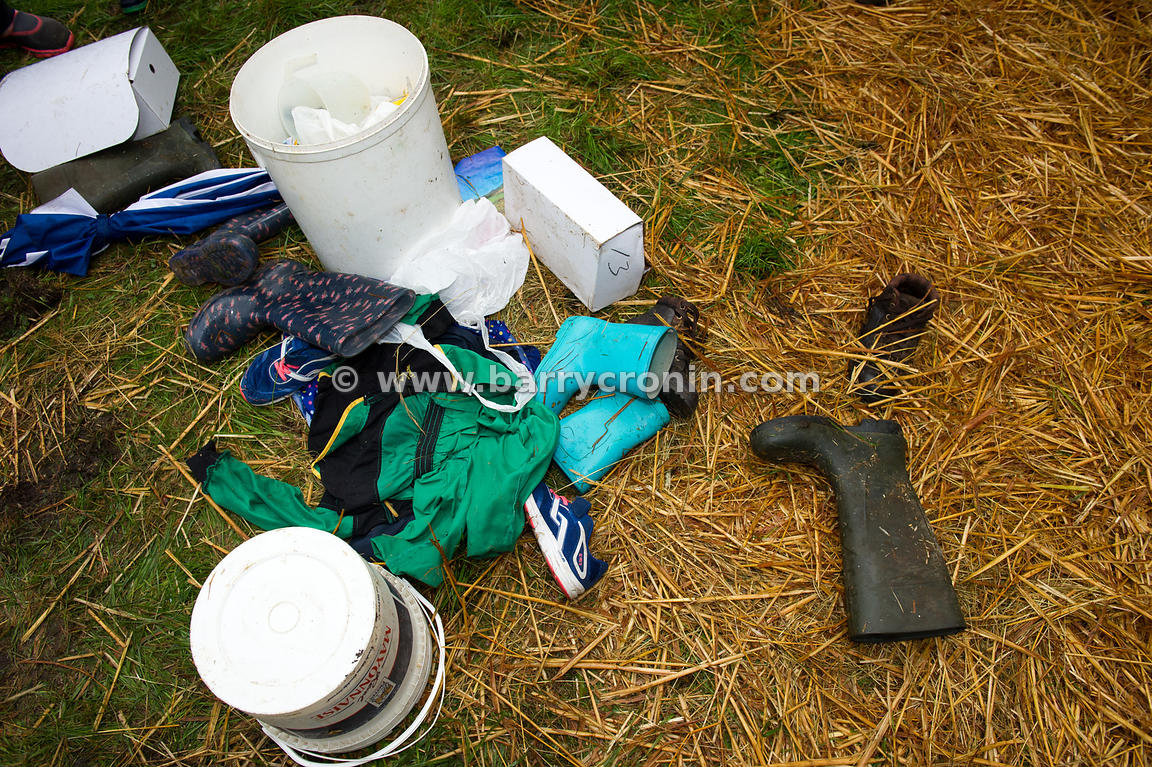 19th August, 2015.The 74th Virginia Agricultural Show, Virginia, County Cavan. Pictured is some of the detritus from preparin...