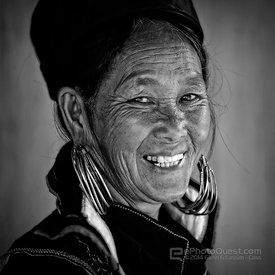 Beautiful Hmong Woman