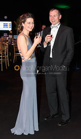 Claire Knight, James Knight. The Quorn Hunt Ball
