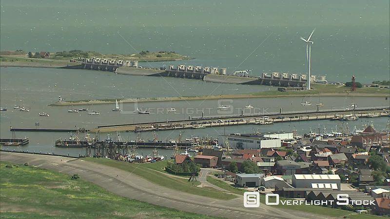 Over Stevin Locks on the Dutch coast