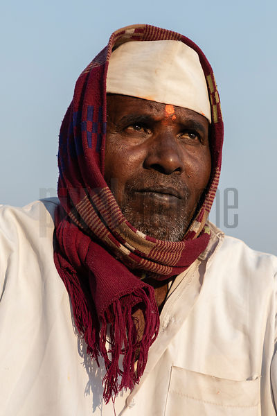 Portrait of a Man from Maharastra
