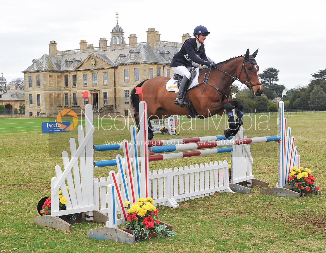 Gaby Cooke and VITALIN VIGOUR - Belton Horse Trials 2014