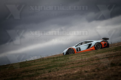 9 Michael Wainwright / Robert Bell Gulf Racing UK McLaren MP4-12C