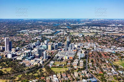 Parramatta and Sydney Skyline